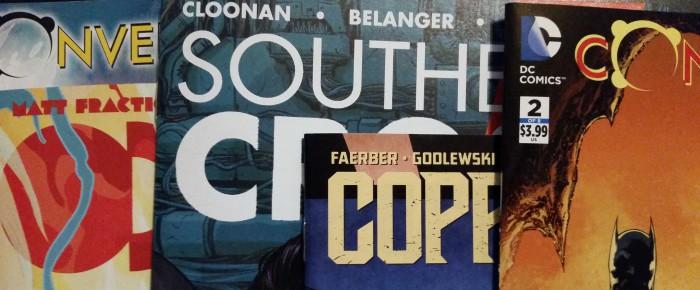 Meine Comickäufe von 14. April 2015 (Convergence, Southern Cross, Copperhead, ODY-C