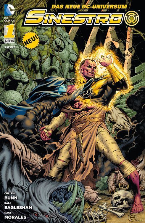 "Comicreview: ""Sinestro"" Band 1"