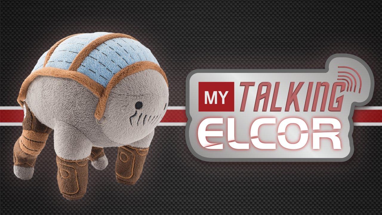 """(aufgeregt) """"Mass Effect"""": Es gibt ein sprechendes Elcor-Plüschtier!"""