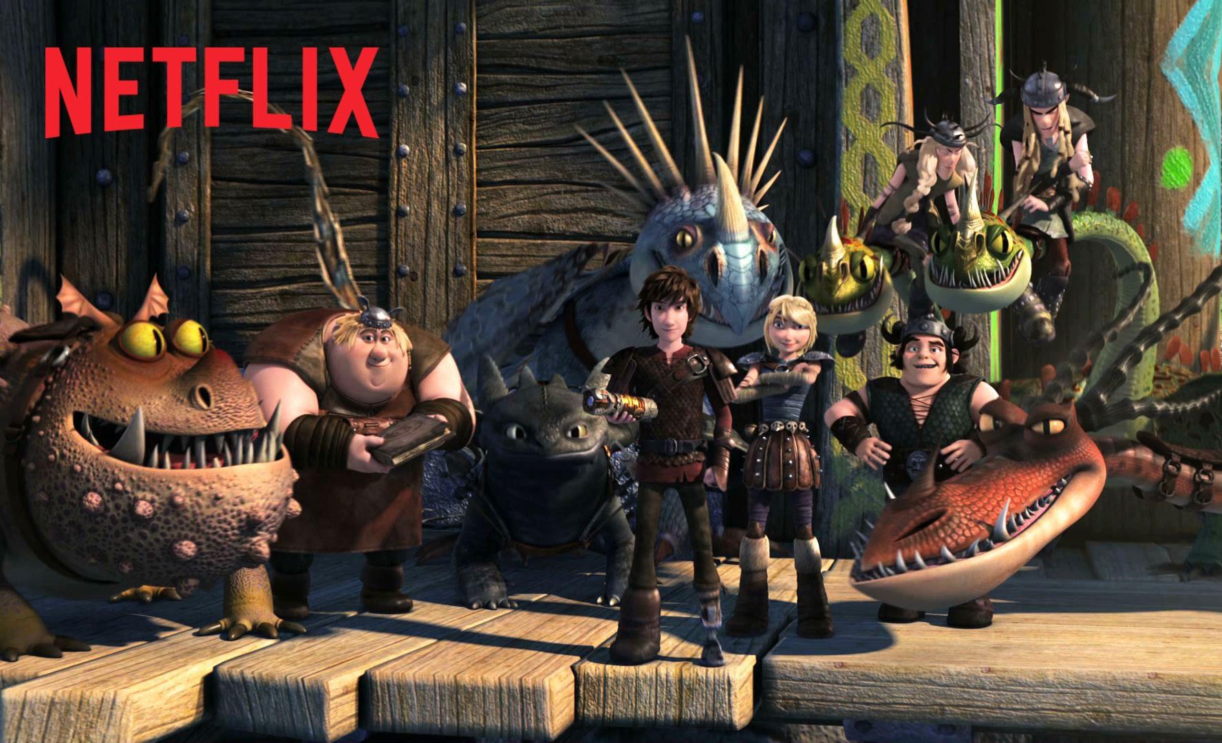 """Netflix hat """"How To Train Your Dragon"""" übernommen und eine Serie draus gemacht"""