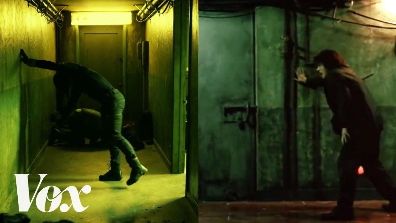 """Nochmal kurz wegen der Hallway-Szene aus """"Daredevil"""" von Netflix"""