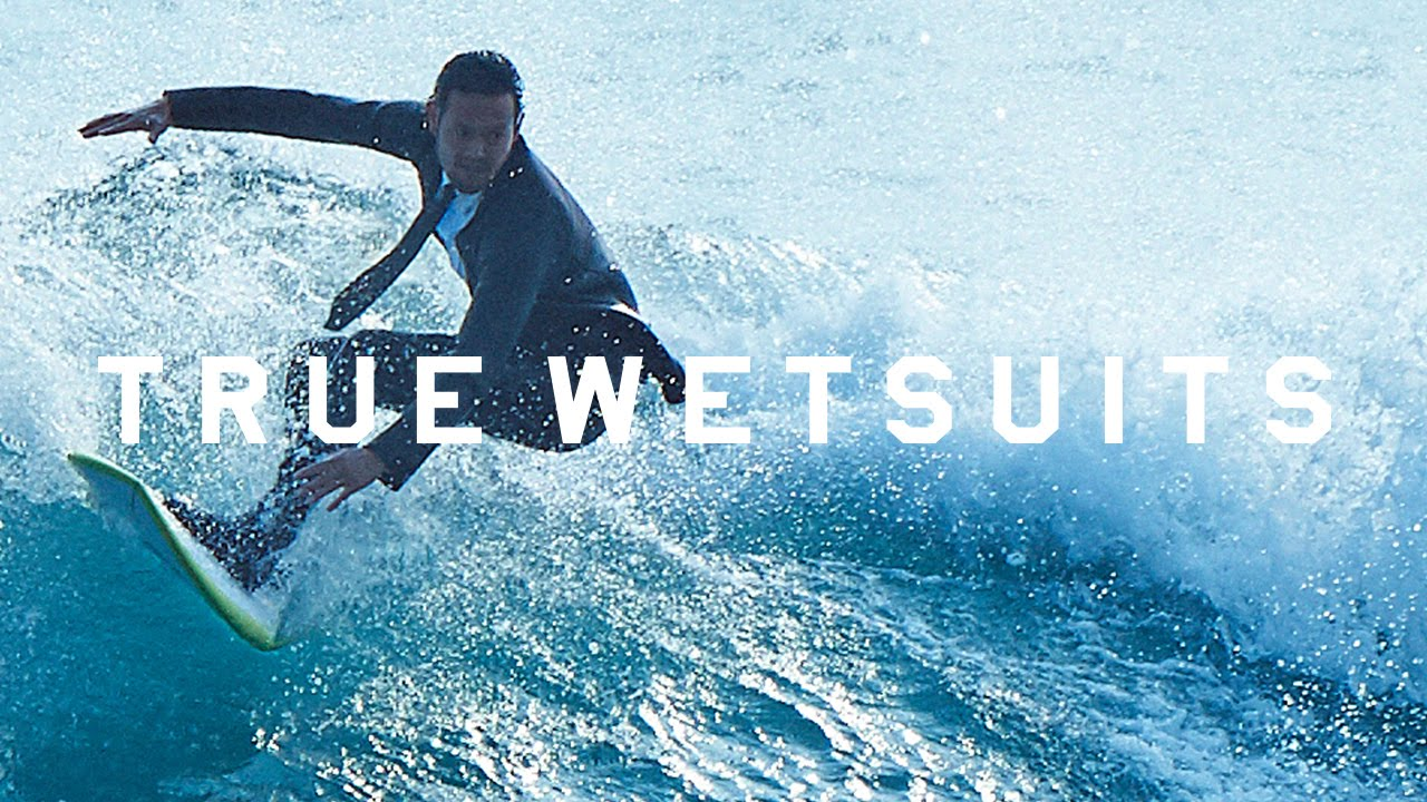 """""""True Wetsuits"""" – vom Büro direkt auf das Surfboard und zurück!"""