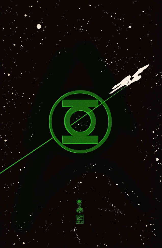 """Es wird ein """"Green Lantern""""-""""Star Trek""""-Crossover geben!"""