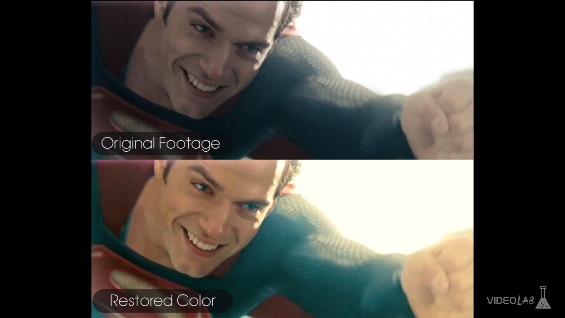 """Wenn """"Man of Steel"""" eine freundlichere Farbpalette gehabt hätte…"""