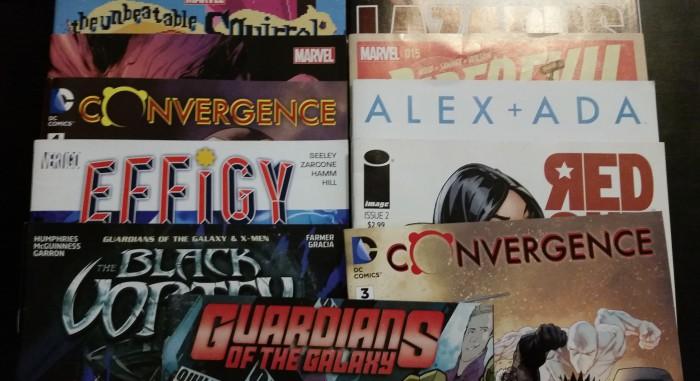 Meine Comickäufe vom 29.04. Convergence, Squirrel Girl, Alex + Ada, Guardians, Effigy, Lazarus, uvm)