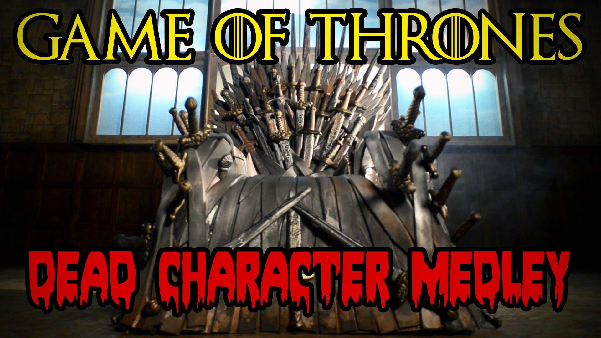 """""""Game of Thrones"""": Dead Charakter Medley (Spoiler)"""
