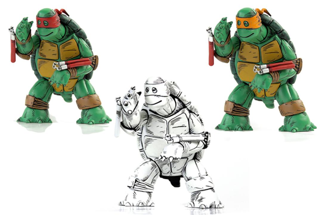 Teenage Mutant Ninja Turtles: Mondo veröffentlicht einen Actionfigur zum ersten Sketch eines Turtles!