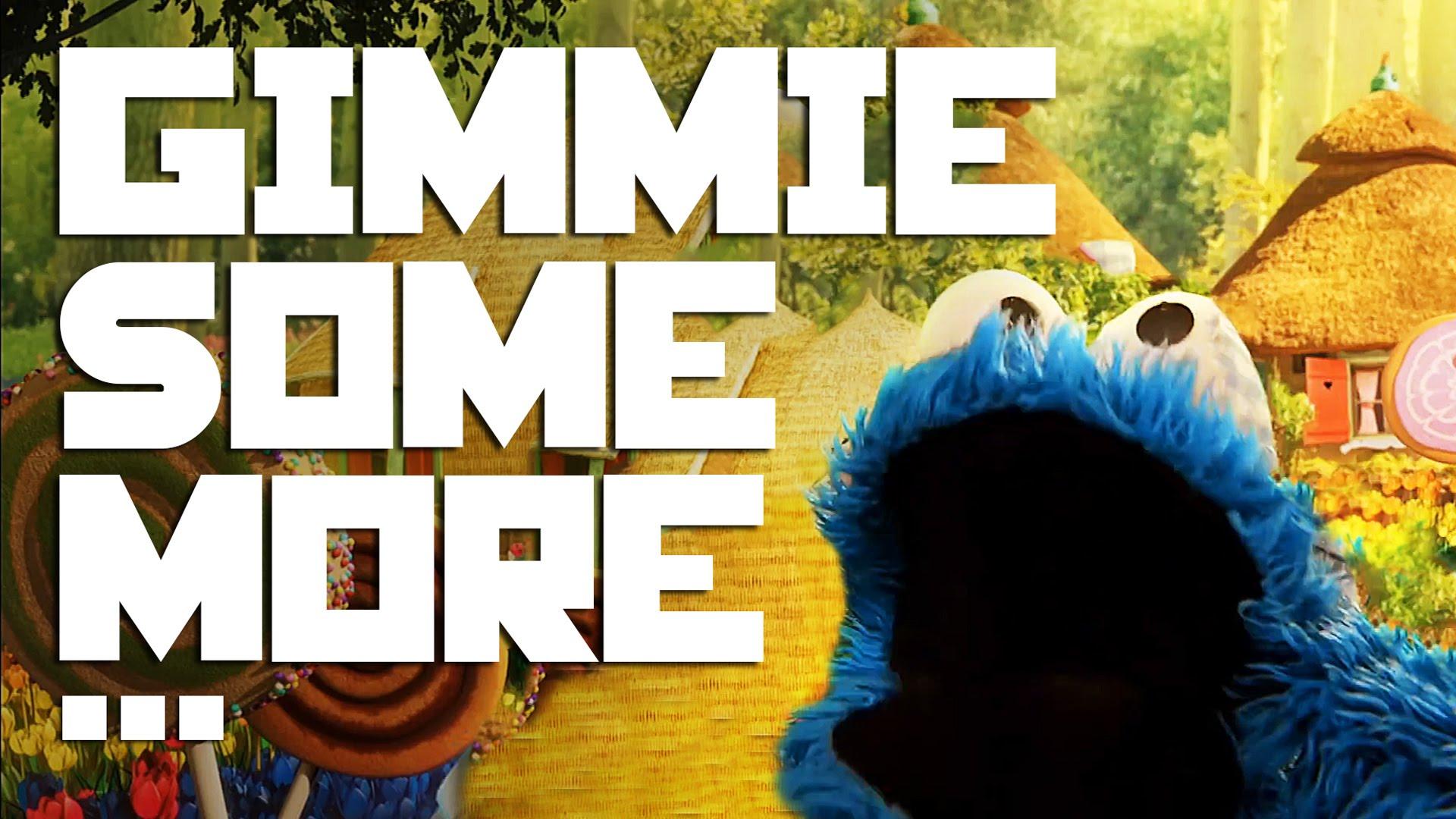 """Das Krümelmonster rappt """"Gimme Some More"""" von Busta Rhymes"""