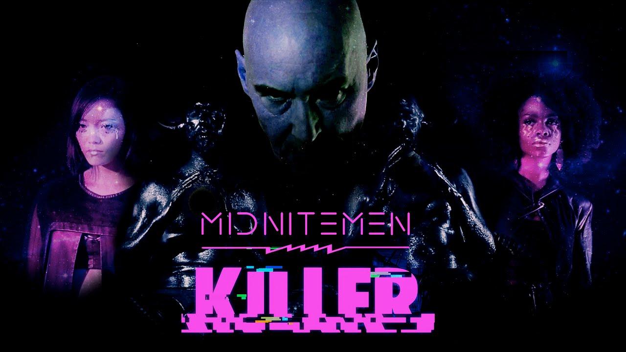"""Grant Morrison tritt im neusten Video """"Killer"""" der MIDNITEMEN auf!"""