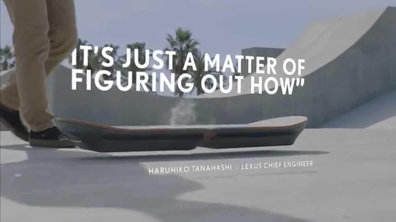 Hat Lexus vielleicht das Hoverboard erfunden?