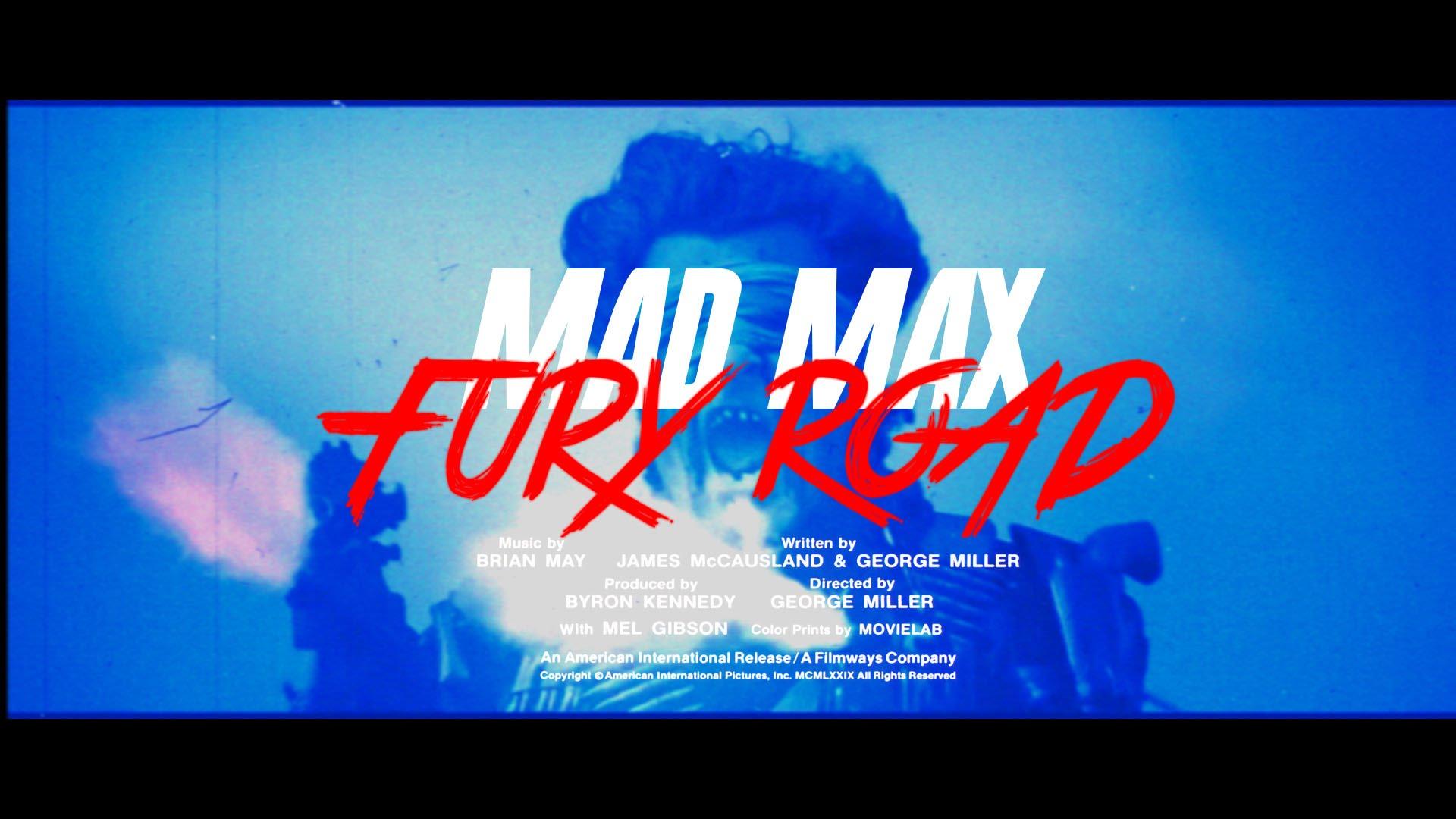 """""""Mad Max: Fury Road"""" in einem 80s Style Trailer musste ja einfach sein"""