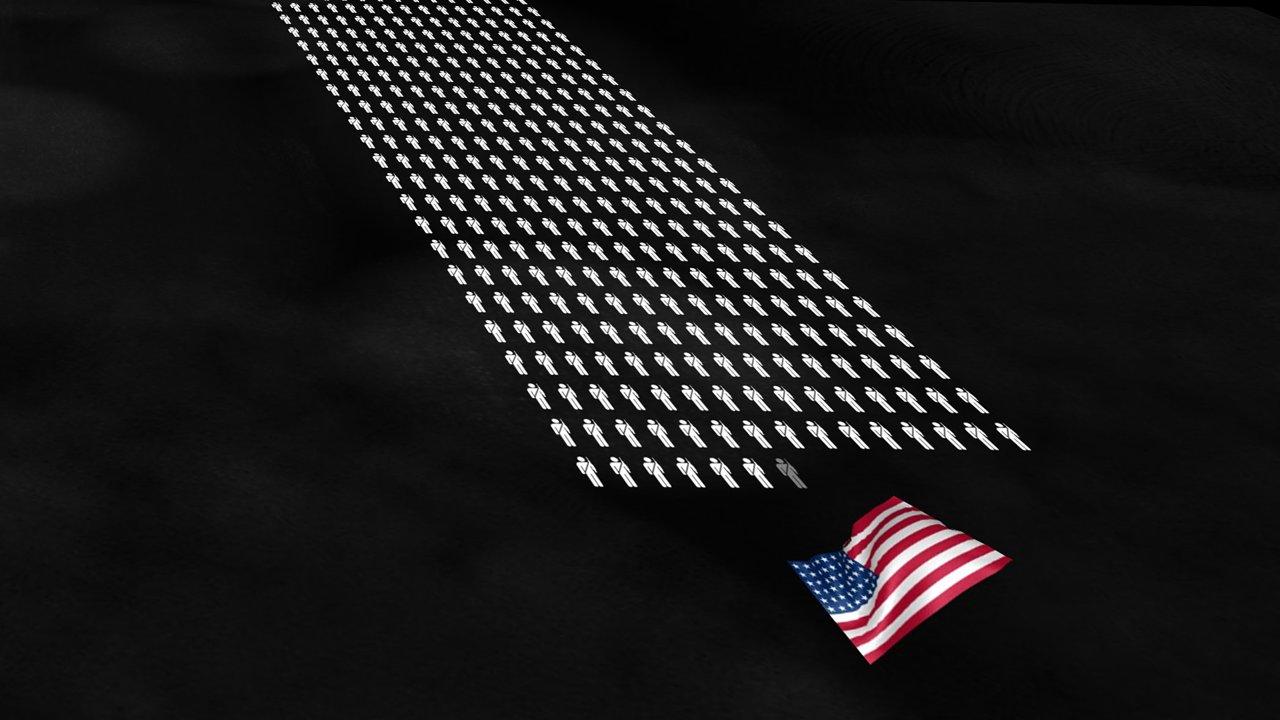 """""""The Fallen of World War II"""" – eine verstörende Datenvisualisierung in Videoform"""