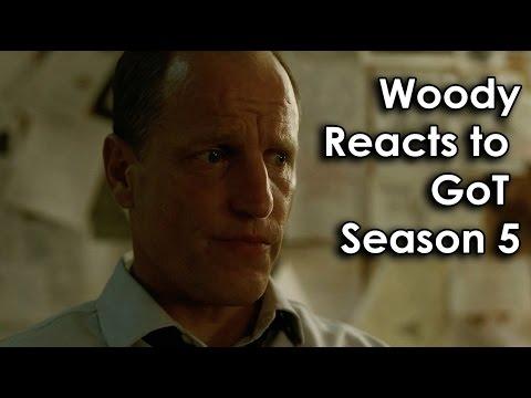 """True Detective"": Woody Harrelson reacts to season 5 of ""Game of Thrones"" (SPOILER!)"