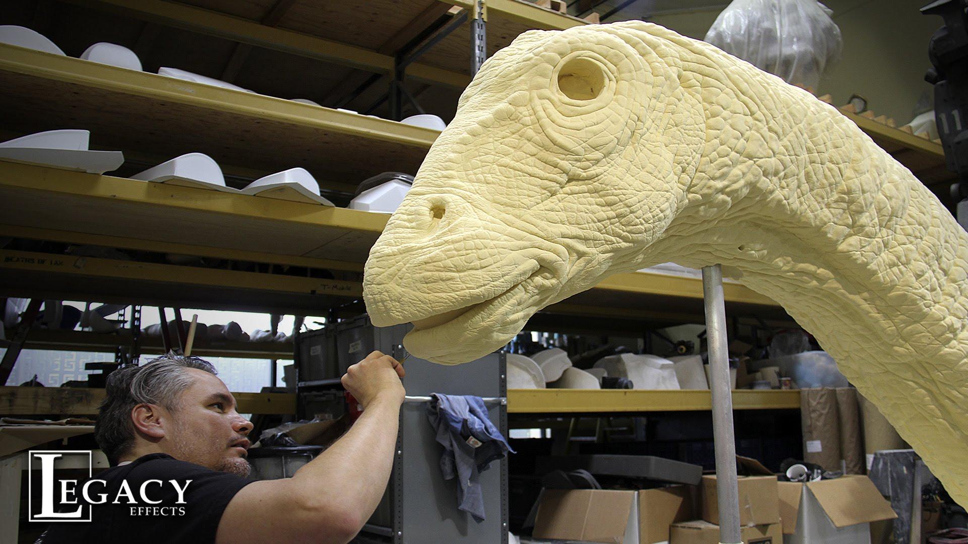 """… und so wurde der Apatosaurus für """"Jurassic World"""" gebaut"""