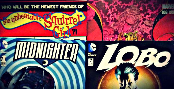 Meine Comickäufe vom 10.06.2015 (Midnighter, Lobo, Secret Wars, Squirrel Girl)