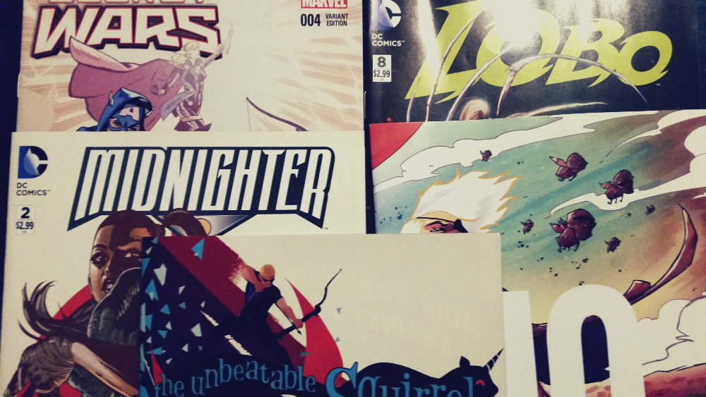 Meine Comickäufe vom 08.07.2015 (Lobo, Secret Wars, Midnighter, Squirrel Girl, The Spire)