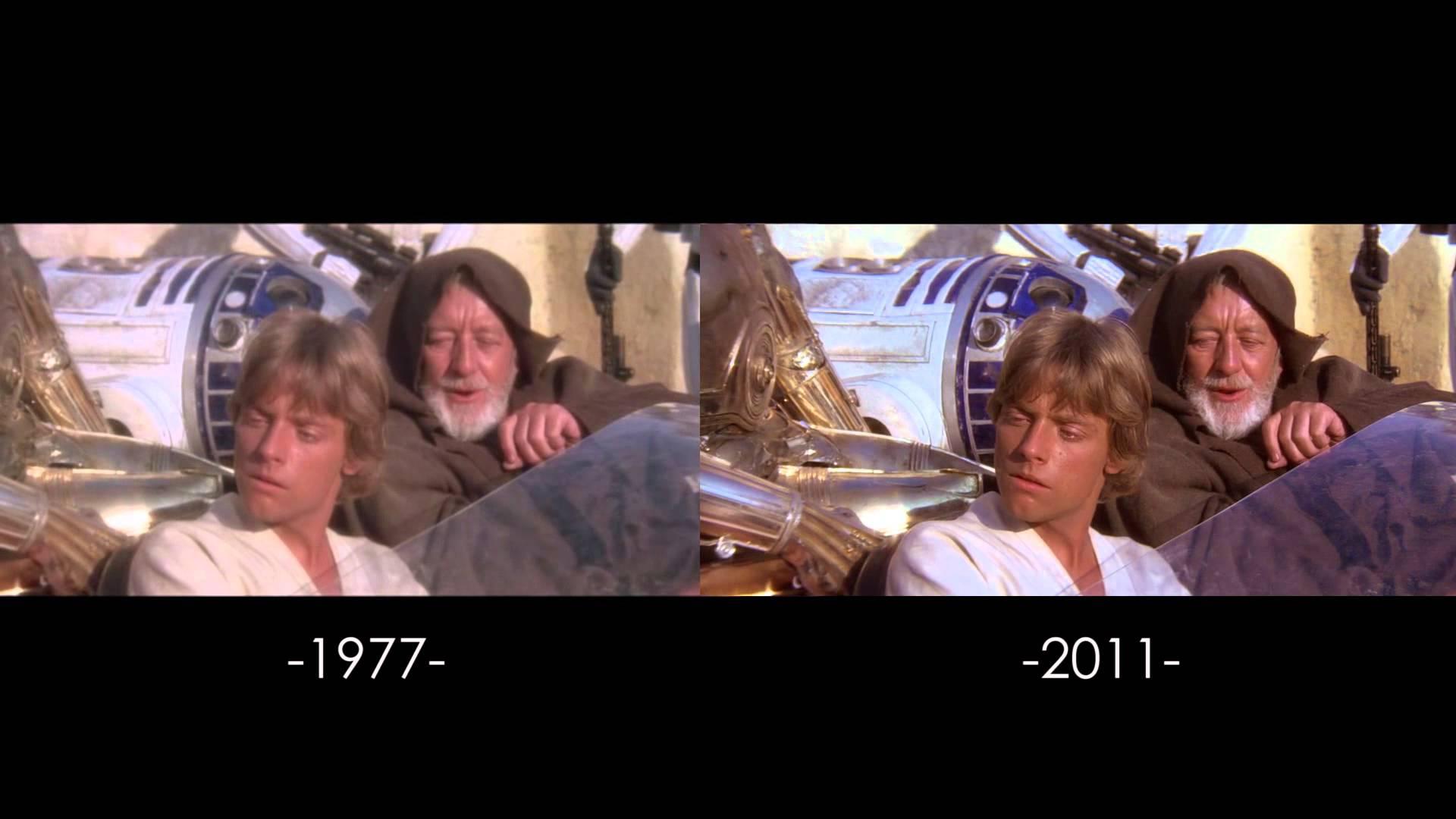 """Alle Änderungen an """"Star Wars"""" in Videoform"""