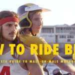 """Auf dem Moped hinten sitzen ist schwierig, aber zum Glück gibt es """"HOW TO RIDE BITCH"""""""
