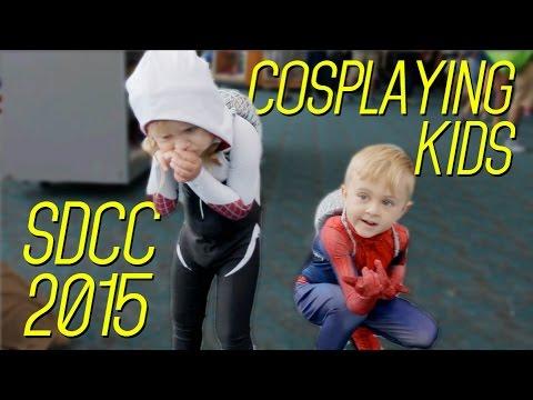 Cosplay Kids auf der San Diego Comic Con 2015