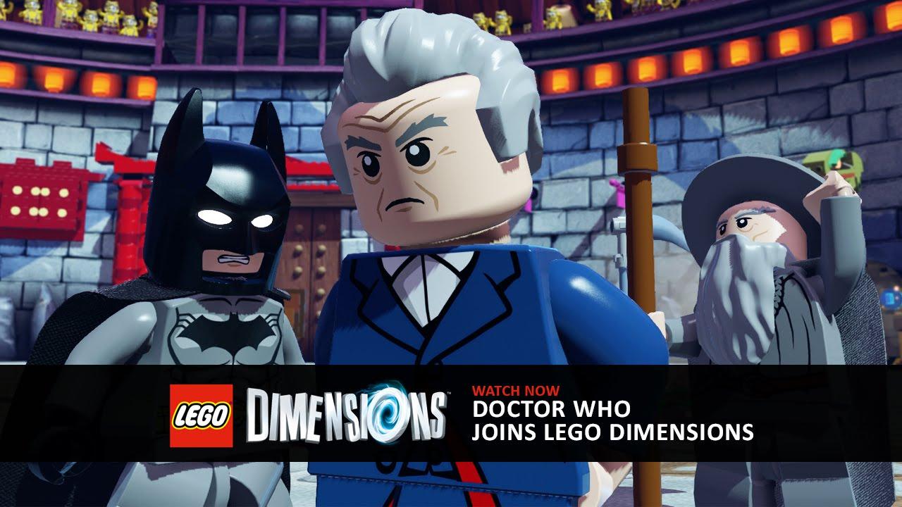"""In """"LEGO Dimensions"""" treffen sich Doctor Who, Batman und Gandalf in der TARDIS"""