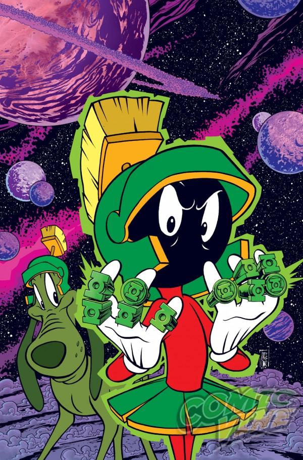 DC Comics veröffentlicht im November 25 Mashup-Cover mit den Looney Toons