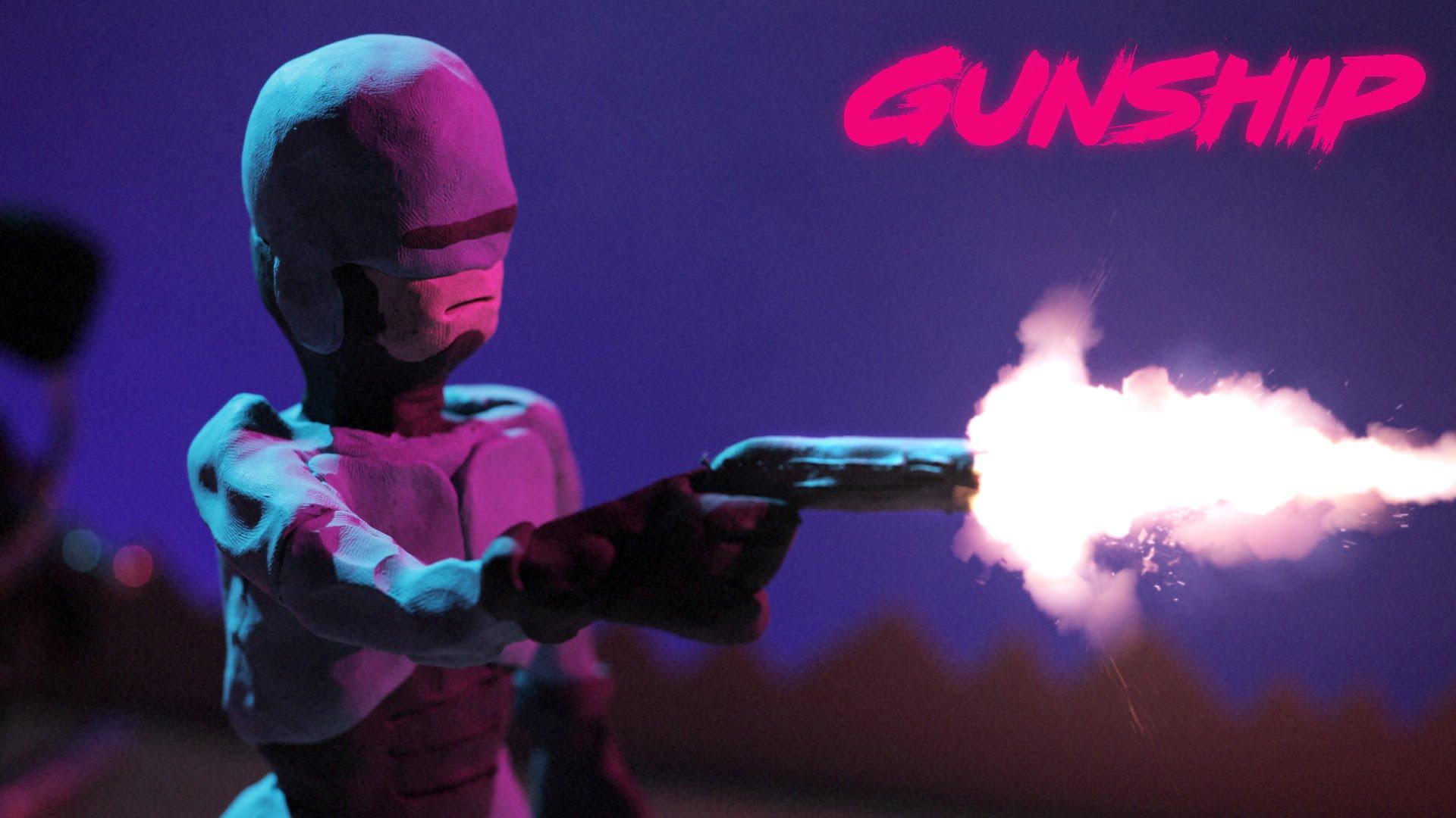 """Das Musikvideo zu """"Tech Noir"""" von Gunship ist wunderschönste Claymation (und von Lee Hardcastle)"""
