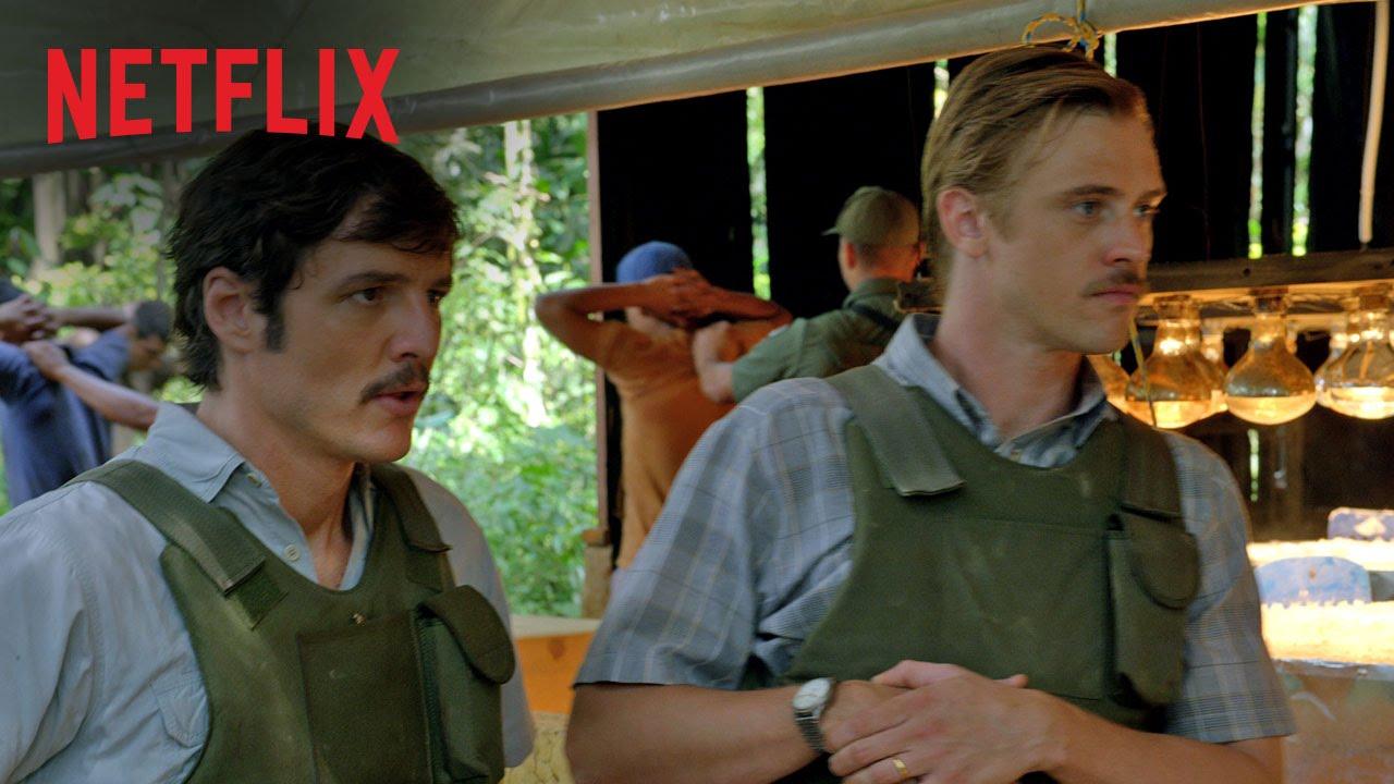 """Die Netflix-Serie """"Narcos"""" bekommt kurz vor Start nochmal schnell einen neuen Trailer"""