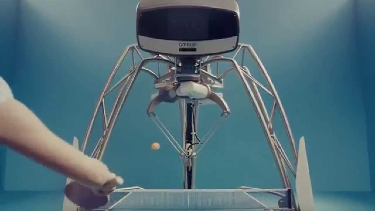 I, for one, welcome our new Ping Pong Deathbot Overlords!