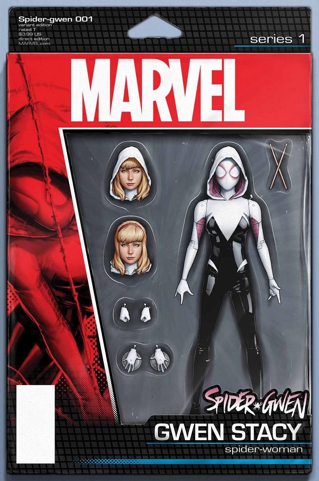 Marvel bringt Actionfiguren-Variant-Cover beliebter Superhelden!