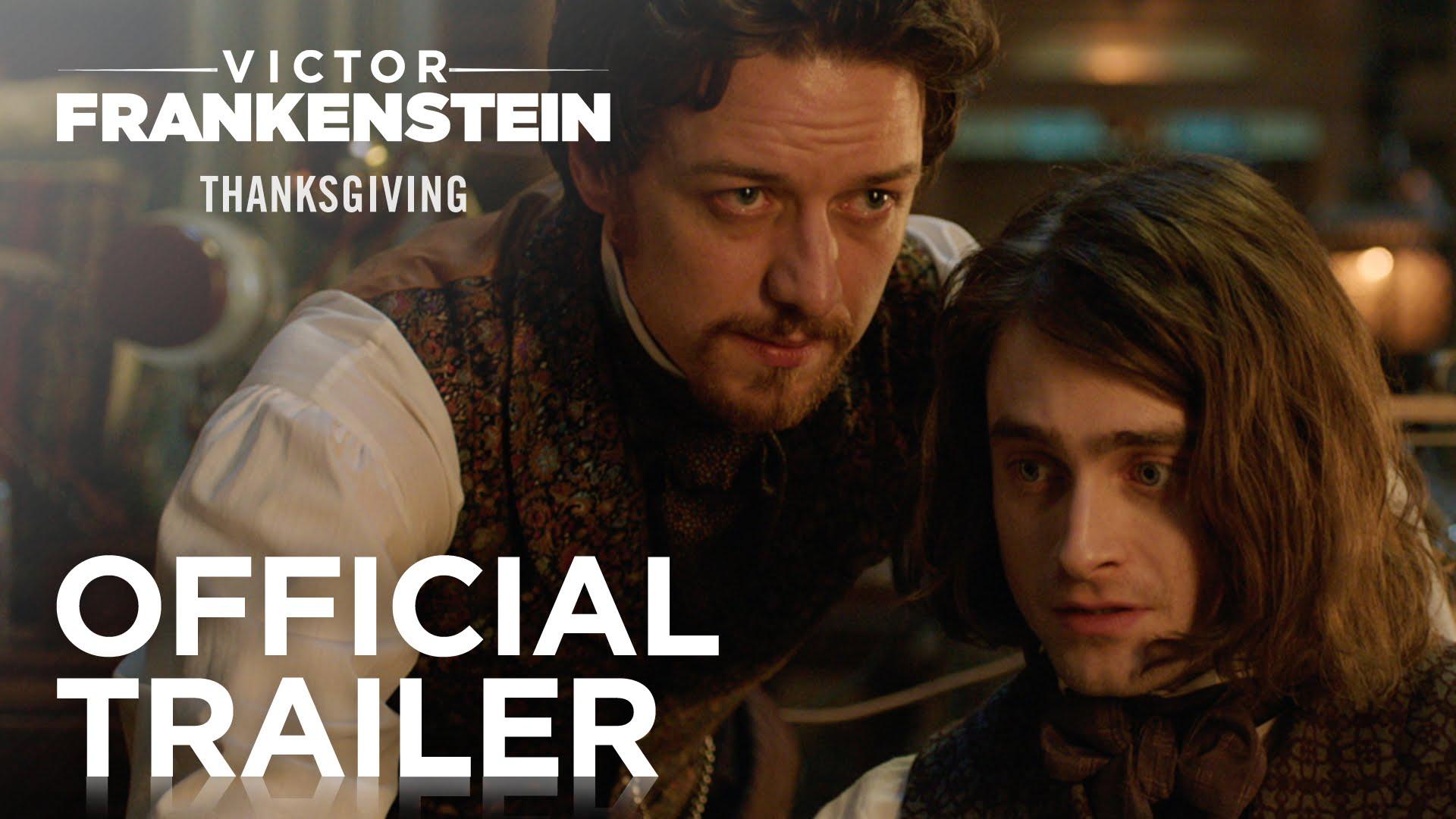 """""""Victor Frankenstein"""", mit Daniel Radcliffe und James McAvoy, sieht ziemlich schnieke aus!"""