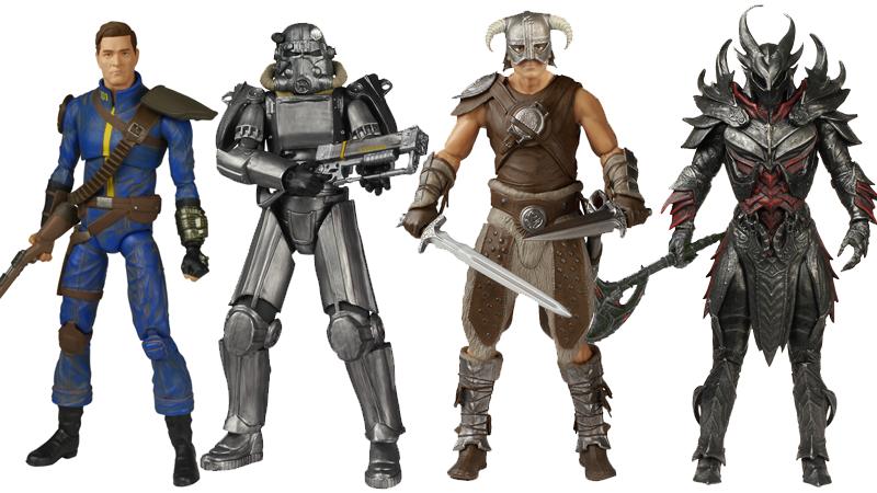 """Funko macht jetzt auch hochwertige Actionfiguren von """"Fallout"""" und """"Skyrim"""""""