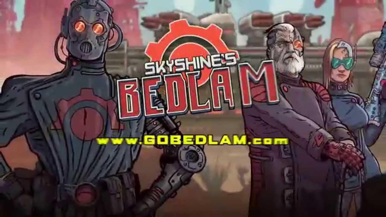 """""""Bedlam"""" ist ein isometrisches, rundenbasiertes, postnukleares Rollenspiel"""
