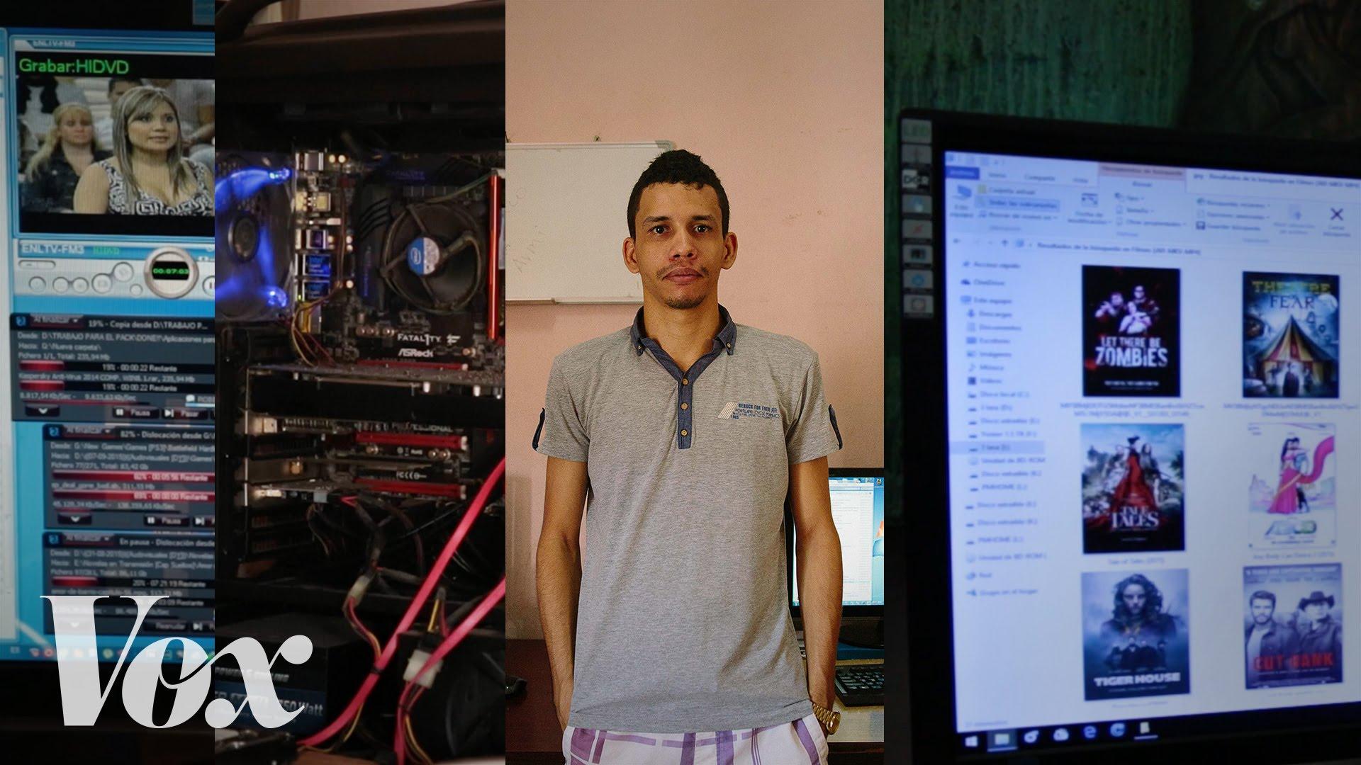 Das illegale Filesharing in Kuba funktioniert ganz ohne Internet