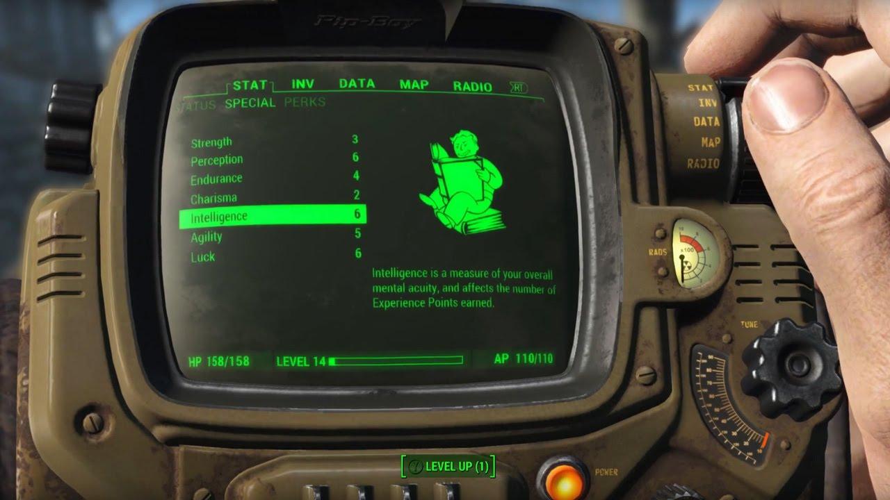 """Ein kurzer Blick in das Charaktersystem von """"Fallout 4"""""""