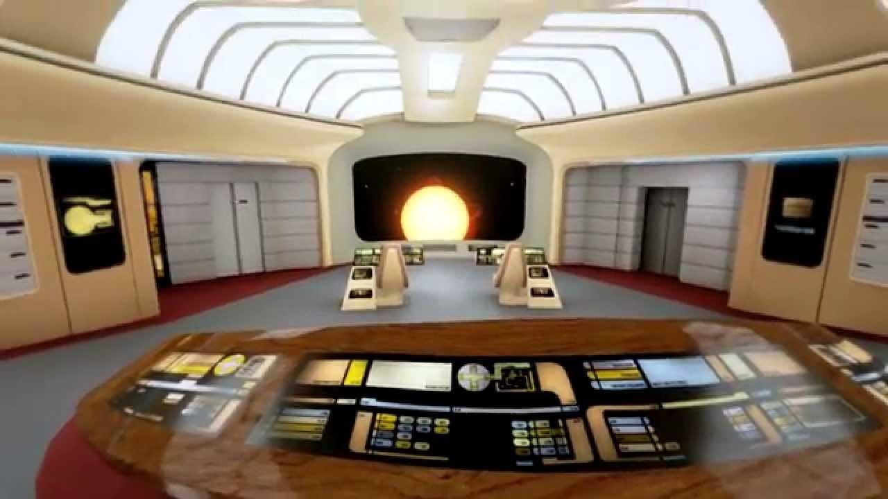 Eine VR-Demo lässt euch die Enterprise D in 3D besuchen