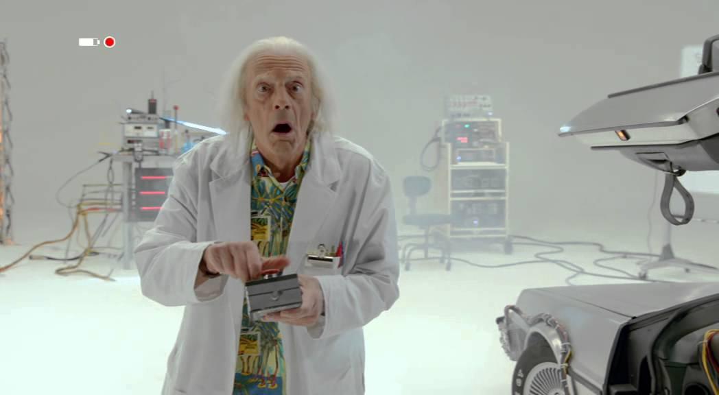 """Für einen """"Back To The Future""""-Kurzfilm wird Christopher Lloyd nochmal zu Doc Brown"""