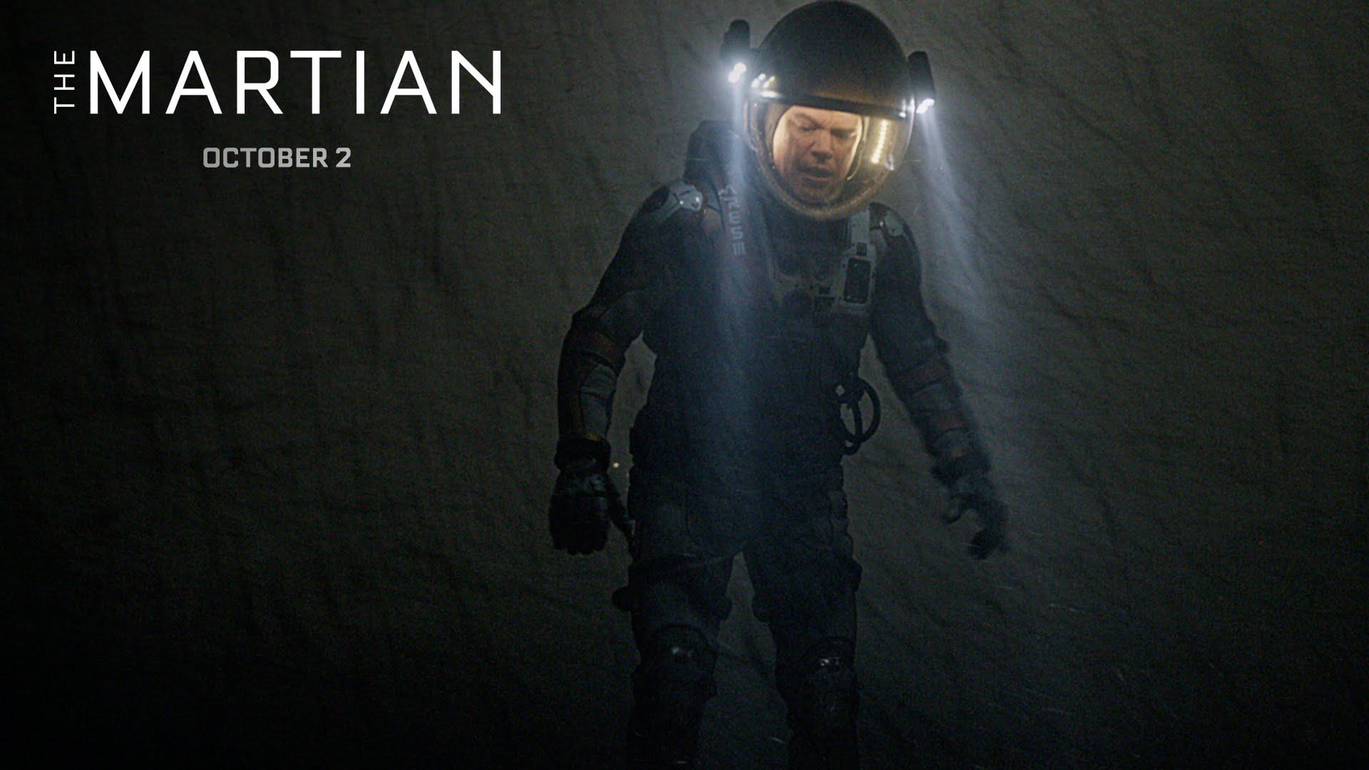 "Matt Damon lebt im neusten Teaser zu ""The Martian"" übrigens immer noch!"