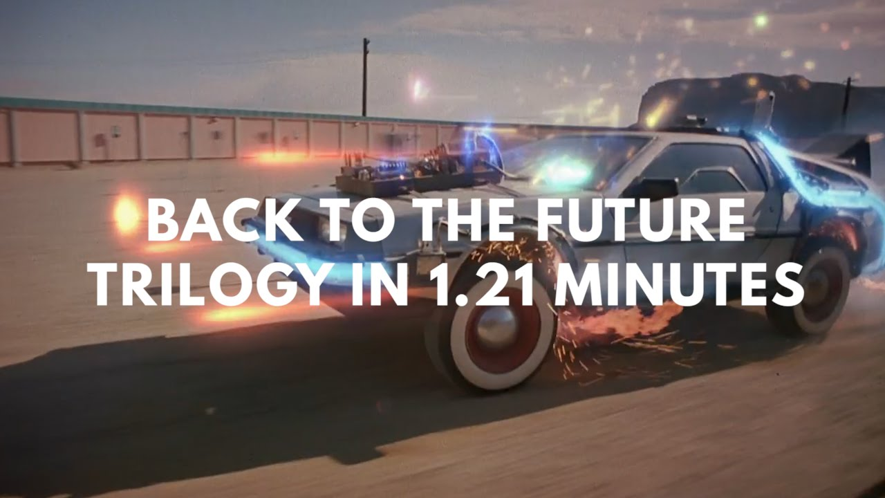 """""""Zurück in die Zukunft"""" in 1.21 Minuten"""