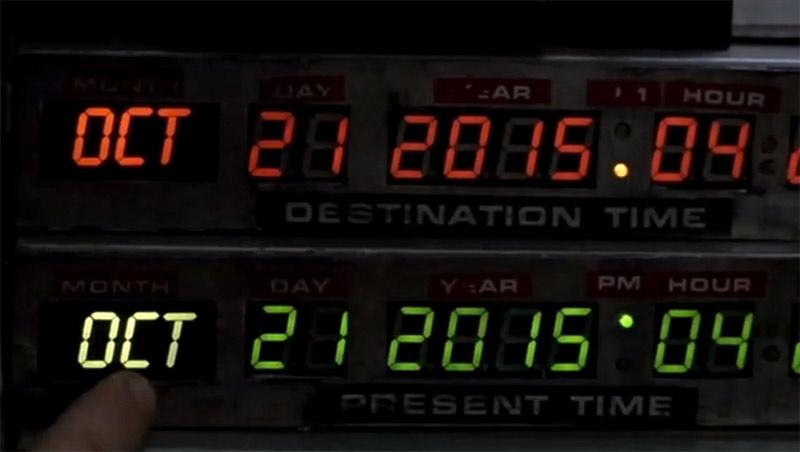 """Und dann spielt auf einmal alles in """"Back to the Future II"""" in der Vergangenheit…"""