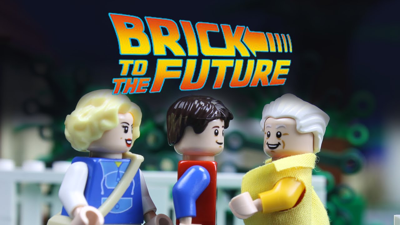 """""""Back To The Future II"""" als Brick Motion"""