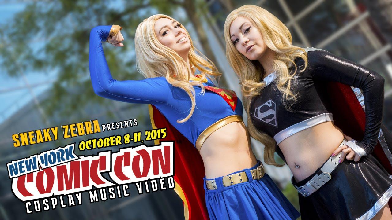 Das Cosplay Musik Video von der New York Comic Con 2015