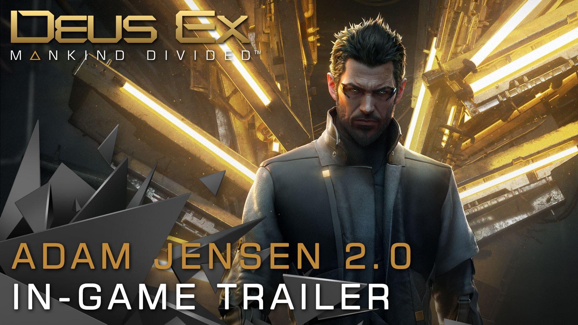 """Im zweiten Trailer sieht """"Deus Ex: Mankind Divided"""" so abartig gut aus"""