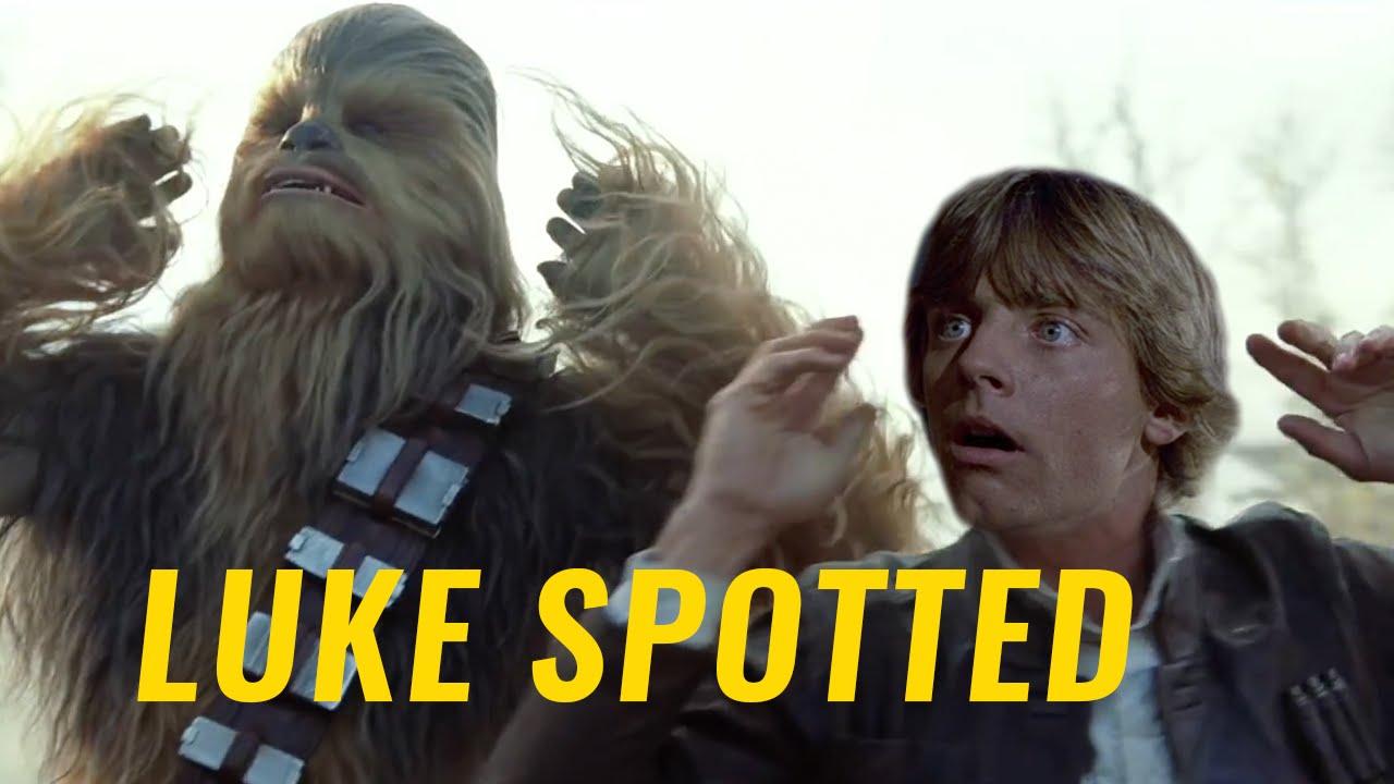 """Luke Skywalker ist nämlich doch im Trailer von """"Star Wars: The Force Awakens"""""""