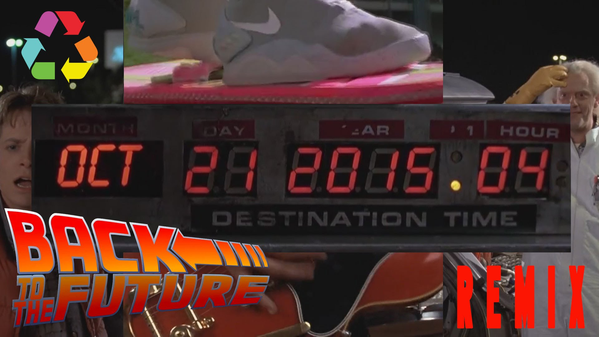 """Natürlich remixt Eclectic Method auch """"Back To The Future"""""""