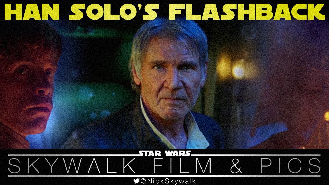 """""""Star Wars: The Force Awakens"""" ist eigentlich ein Film aus den 80s über die Flashbacks von Han Solo"""