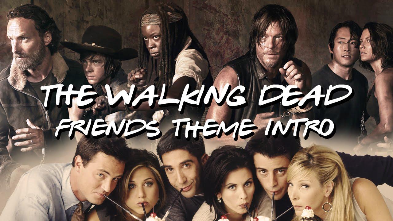 """""""The Walking Dead"""" und """"Friends"""" ergeben zusammen ein sehr schönes Intro"""