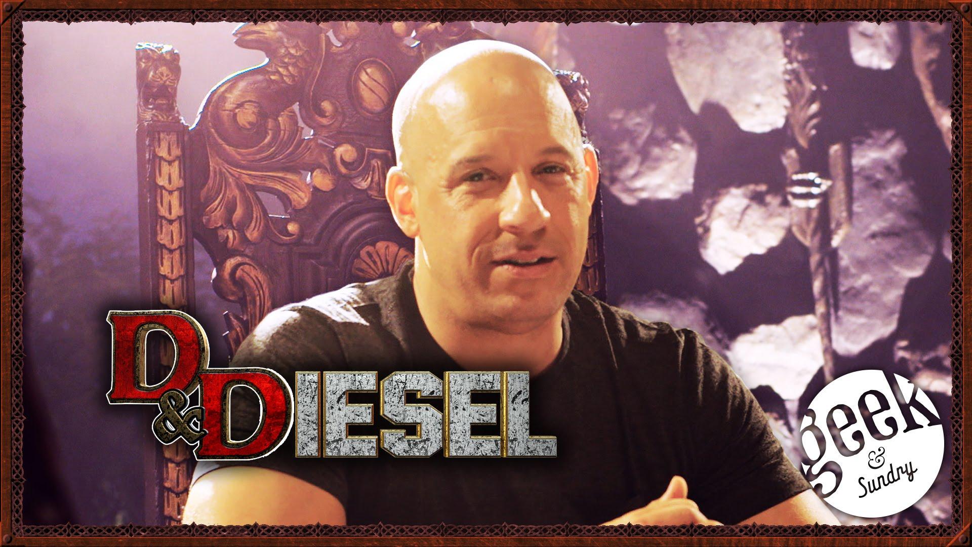 """Vin Diesel spielt Dungens & Dragons, um seinen Film """"The Last Witch Hunter"""" zu promoten"""