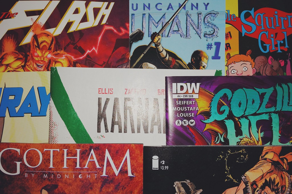 Mein Comic Haul vom 28.10.2015 (Godzilla in Hell, Flash, Inhumans, Squirrel Girl, Karnak, Tokyo Ghost uvm)