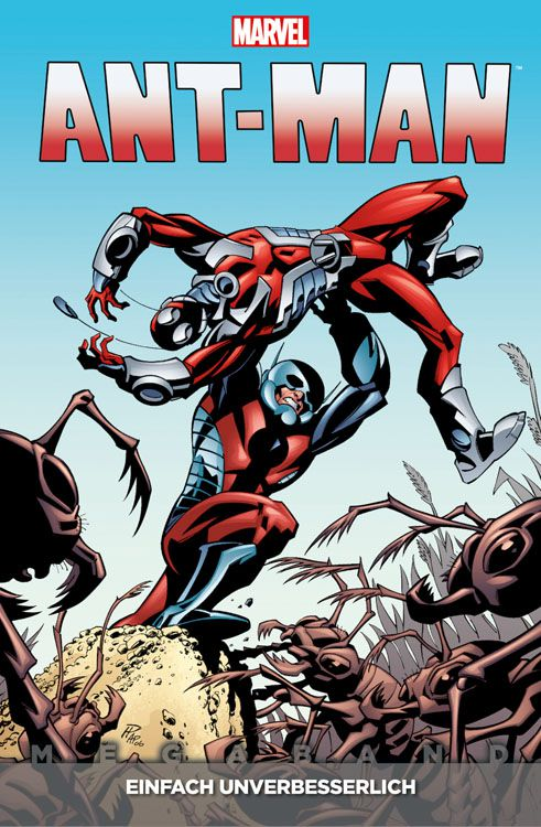 Comicreview: Ant-Man – Megaband 1