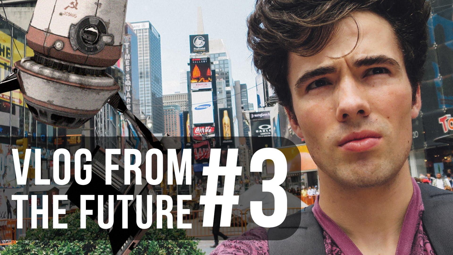 """Adrian gibt uns in seinen """"Vlogs From The Future"""" einen kurzen Einblick in die Zukunft"""